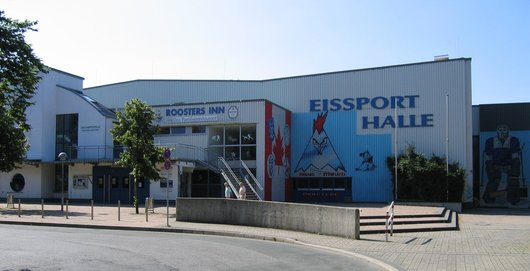 Eissporthalle in Iserlohn (Foto: Asio otus / wikipedia - Creative Commons Attribution-Share Alike 3.0 Unported)